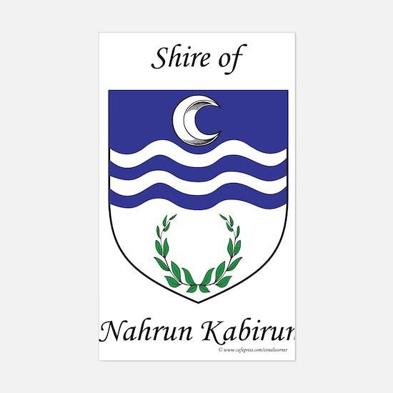 Nahrun Kabirun Rectangle Decal