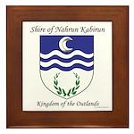 Nahrun Kabirun Framed Tile