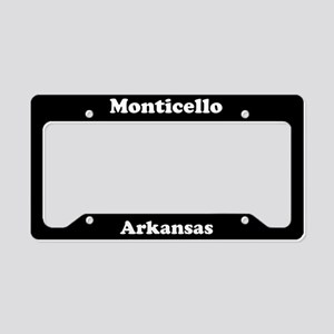 Monticello AR - LPF License Plate Holder