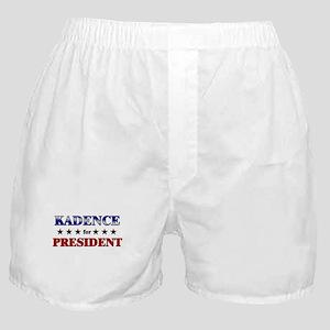 KADENCE for president Boxer Shorts