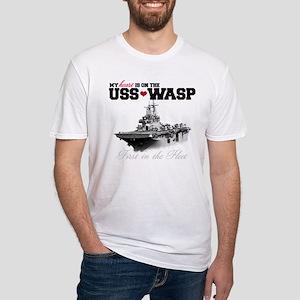 USS Wasp (Heart) T-Shirt