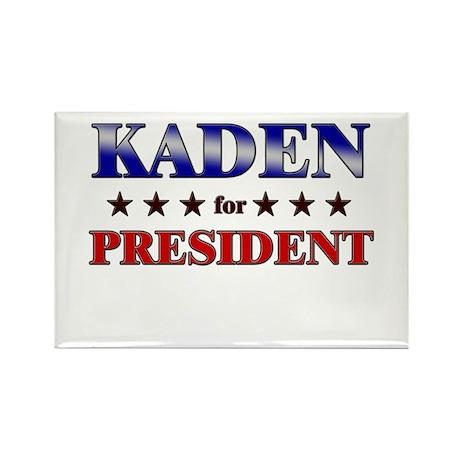 KADEN for president Rectangle Magnet (10 pack)