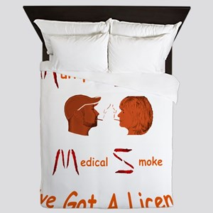 Multiple Sclerosis Medical License Queen Duvet