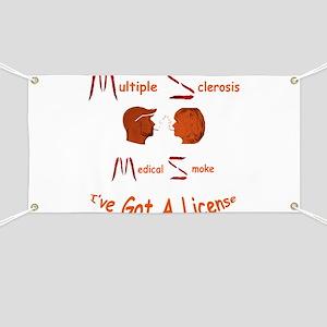 Multiple Sclerosis Medical License Banner
