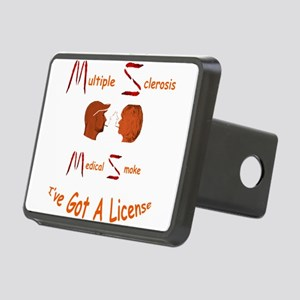 Multiple Sclerosis Medical Rectangular Hitch Cover