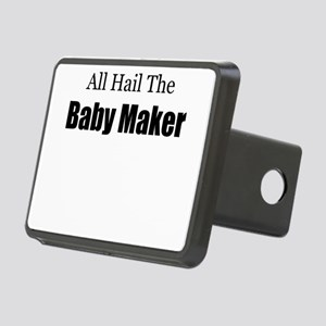 ALL HAIL THE BABY MAKER.pn Rectangular Hitch Cover
