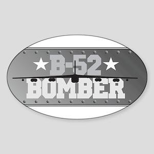 B-52 Aviation Oval Sticker