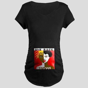 Anti-Racism Maternity Dark T-Shirt