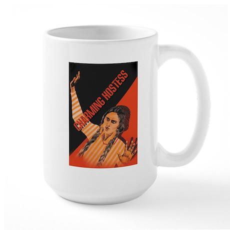 CHARMING HOSTESS Large Mug