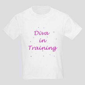 Diva in Training Kids Light T-Shirt