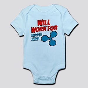Will Work for XRP Ripple Body Suit
