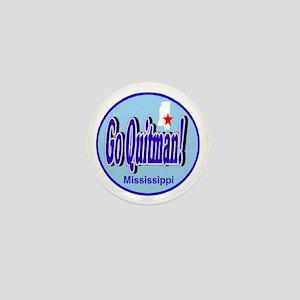 Go Quitman Mini Button
