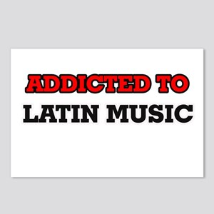 Addicted to Latin Music Postcards (Package of 8)