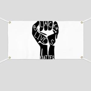 BLACK LIVES MATTER POWER Banner