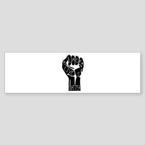 BLACK LIVES MATTER POWER Bumper Sticker