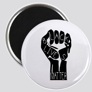 BLACK LIVES MATTER POWER Magnets