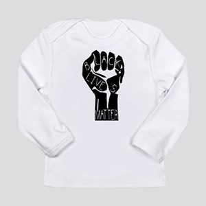 BLACK LIVES MATTER POWER Long Sleeve T-Shirt
