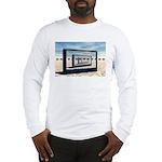 Surreal Elephant Desert Scene Long Sleeve T-Shirt
