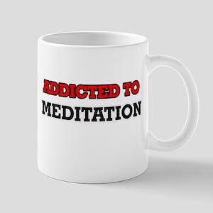 Addicted to Meditation Mugs