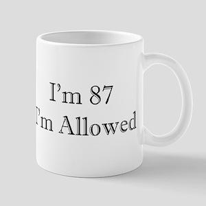 87 I'm Allowed 3 Mugs