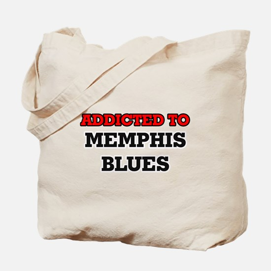 Addicted to Memphis Blues Tote Bag