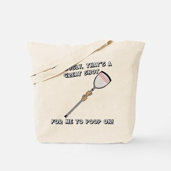 Lacrosse Goalie Insult Tote Bag