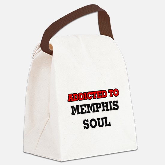 Addicted to Memphis Soul Canvas Lunch Bag