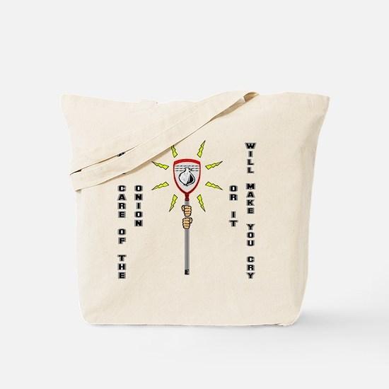 Lacrosse Goalie Onion Tote Bag