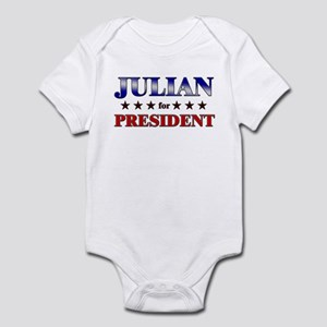 JULIAN for president Infant Bodysuit
