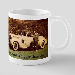 Yellow Packard Mugs
