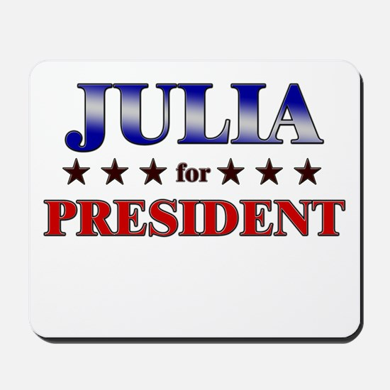 JULIA for president Mousepad
