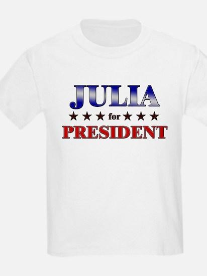 JULIA for president T-Shirt