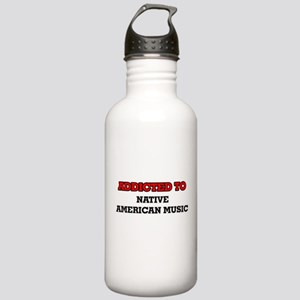 Addicted to Native Ame Stainless Water Bottle 1.0L