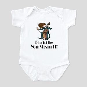 Play The Cello Infant Bodysuit