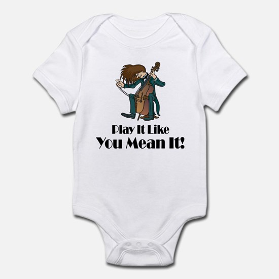 Play The Cello Infant Bodysuit