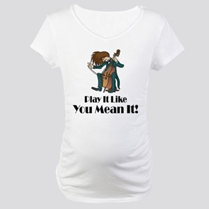 Play The Cello Maternity T-Shirt