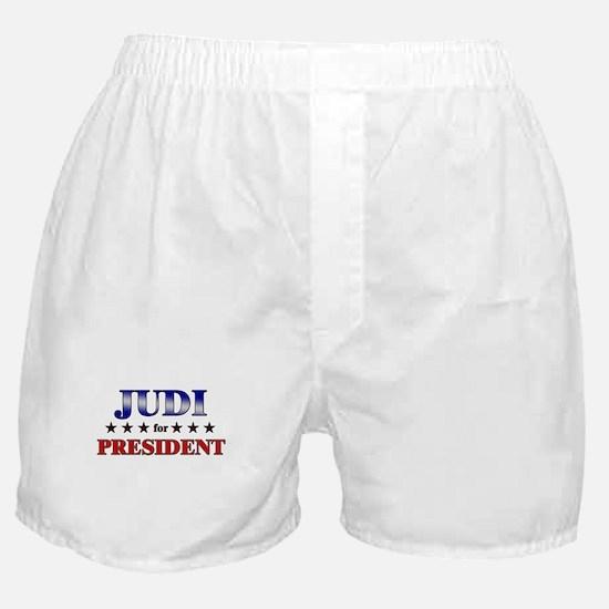 JUDI for president Boxer Shorts