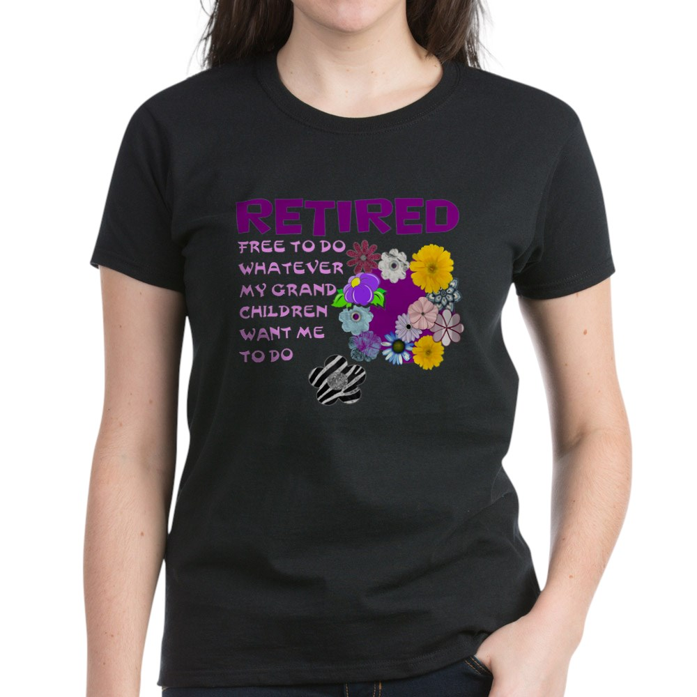 CafePress-Retired-T-Shirt-Women-039-s-Cotton-T-Shirt-1823657129 thumbnail 8