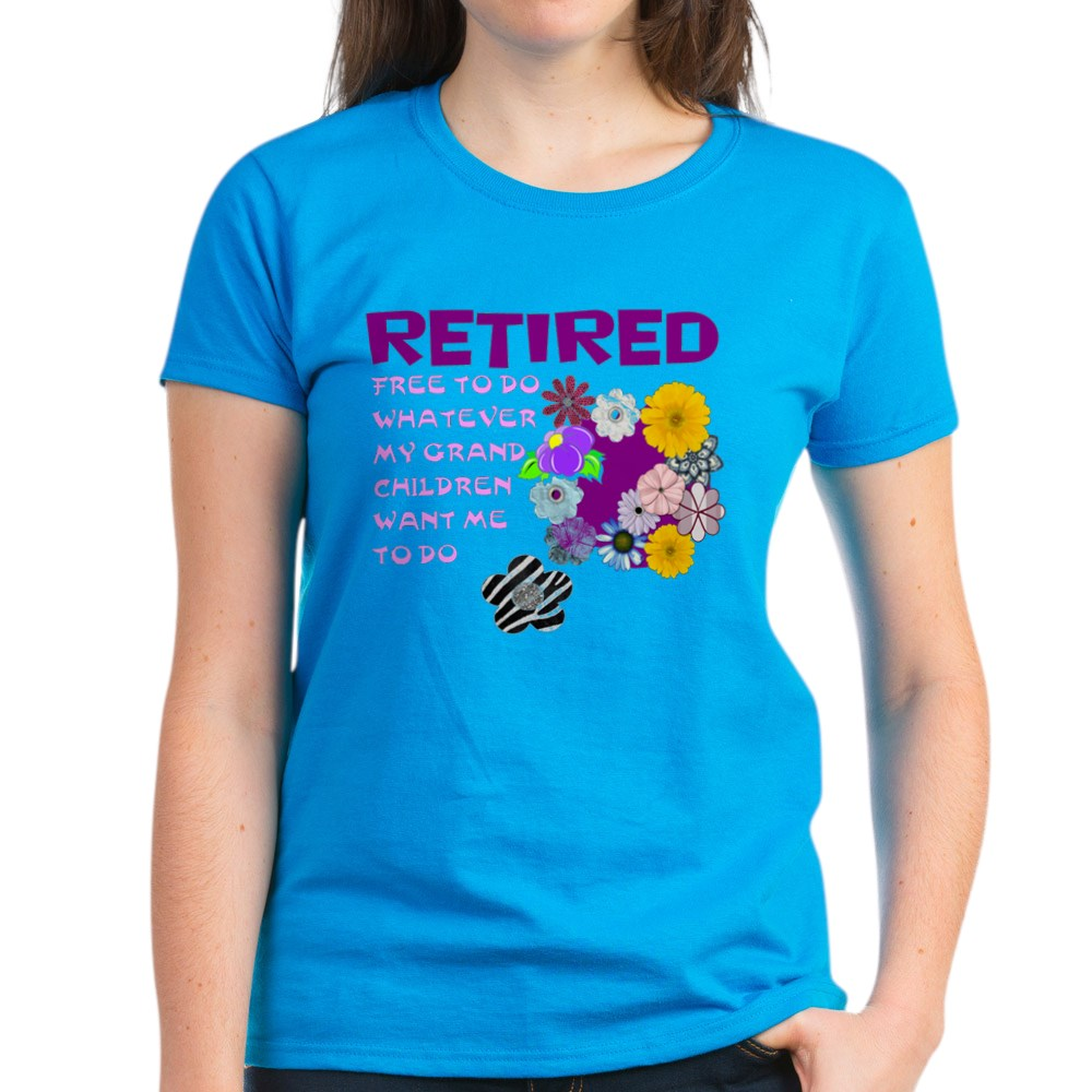 CafePress-Retired-T-Shirt-Women-039-s-Cotton-T-Shirt-1823657129 thumbnail 44