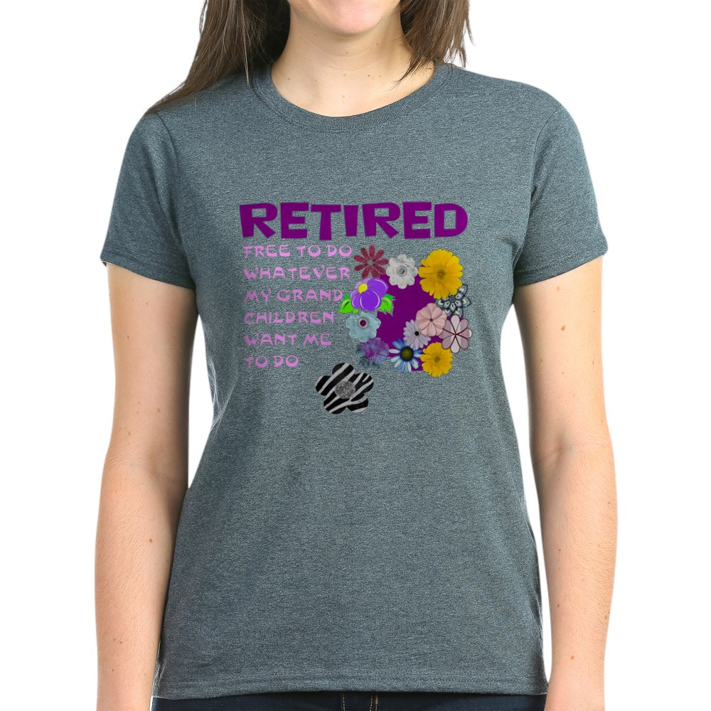 CafePress-Retired-T-Shirt-Women-039-s-Cotton-T-Shirt-1823657129 thumbnail 56