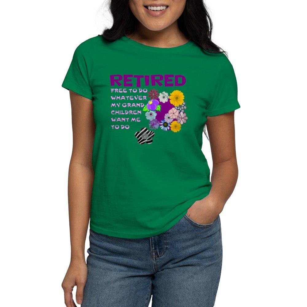 CafePress-Retired-T-Shirt-Women-039-s-Cotton-T-Shirt-1823657129 thumbnail 64