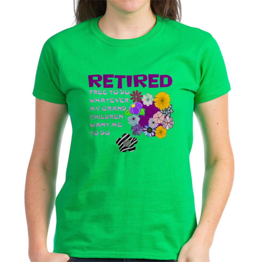 CafePress-Retired-T-Shirt-Women-039-s-Cotton-T-Shirt-1823657129 thumbnail 60