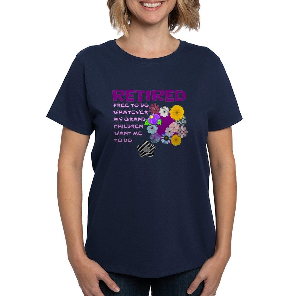 CafePress-Retired-T-Shirt-Women-039-s-Cotton-T-Shirt-1823657129 thumbnail 36
