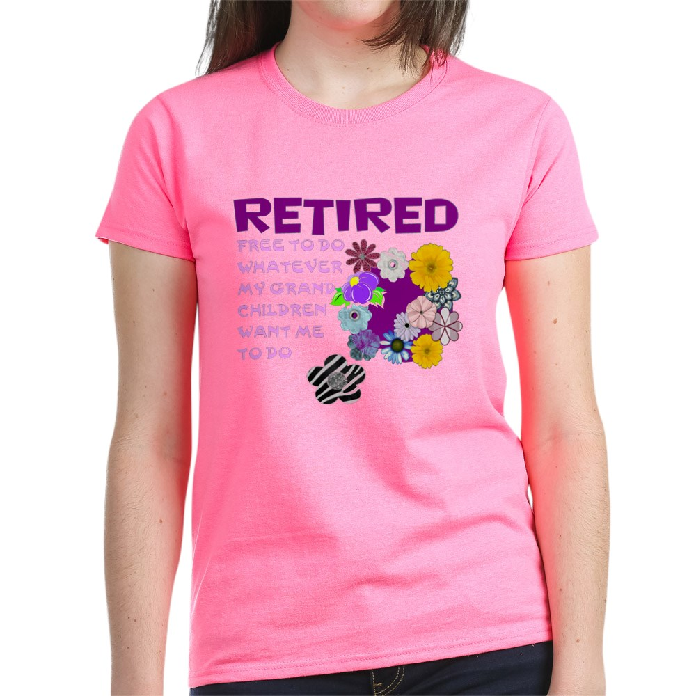 CafePress-Retired-T-Shirt-Women-039-s-Cotton-T-Shirt-1823657129 thumbnail 30