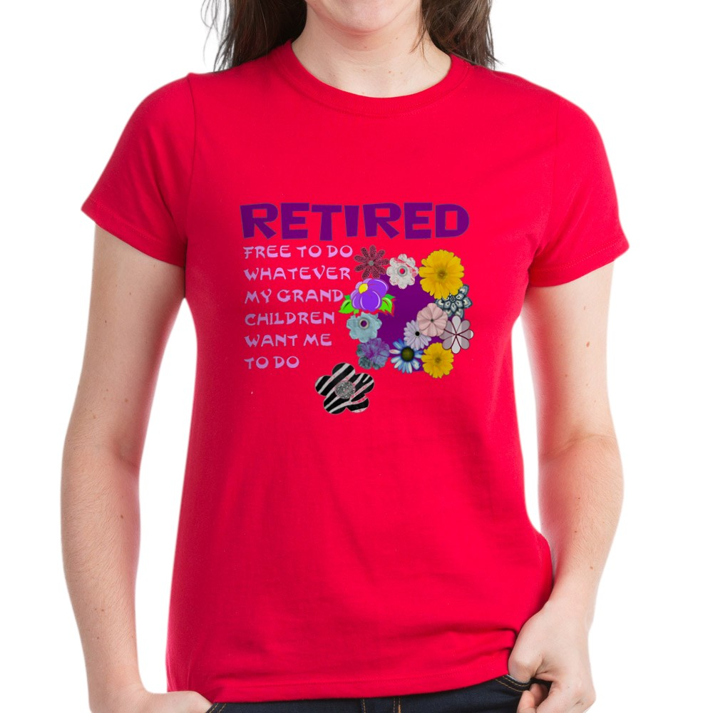 CafePress-Retired-T-Shirt-Women-039-s-Cotton-T-Shirt-1823657129 thumbnail 14