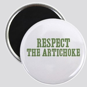 Respect The Artichoke Magnet