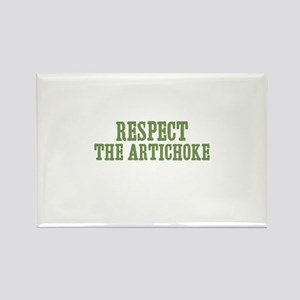 Respect The Artichoke Rectangle Magnet