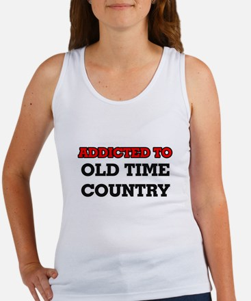 Addicted to Old Time Country Tank Top