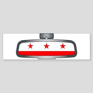 Driving Through Washington DC Bumper Sticker