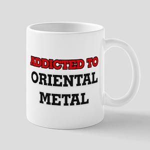 Addicted to Oriental Metal Mugs